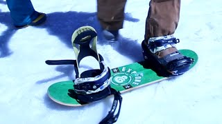Snowboarding On A Skateboard