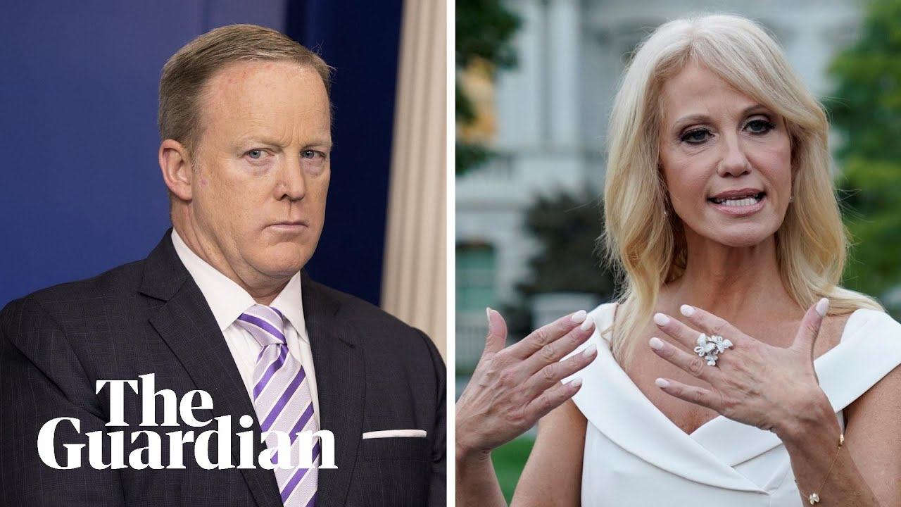 Biden asks Sean Spicer and Kellyanne Conway to quit military ...