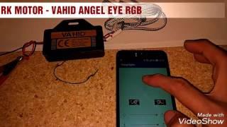 LAMPU ANGEL EYE LED RGB GARANSI SENSOR MUSIC