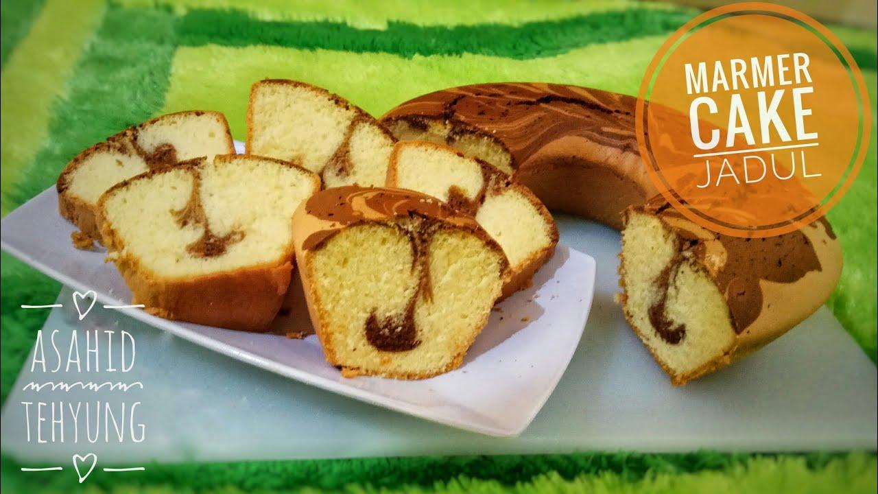 Cara Membuat Cake Marmer Yang Lembut