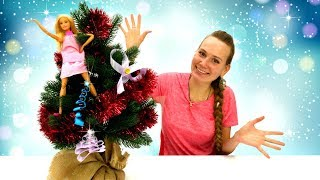 Новогодние игрушки для Барби своими руками - Новогоднее видео