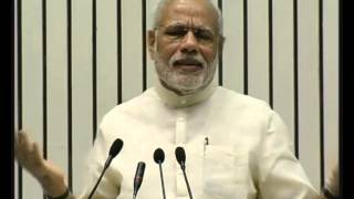 PM Modi at the launch of the Smart Cities Mission, AMRUT & Housing for All Mission