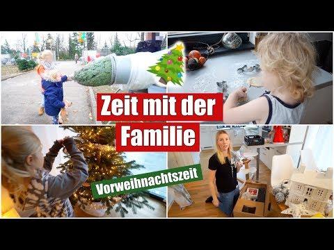 Weihnachtlich dekorieren & Tannenbaum schmücken 🎄   Familienzeit   Isabeau