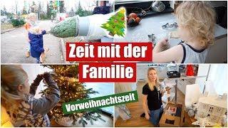 Weihnachtlich dekorieren & Tannenbaum schmücken 🎄 | Familienzeit | Isabeau