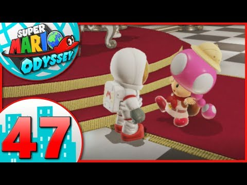 Super Mario Odyssey - Part 47 - Cleaning up the Kingdoms