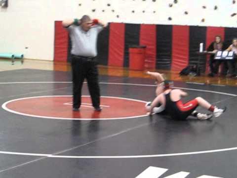 Samuel Watson Wrestling at West Alexander Middle School