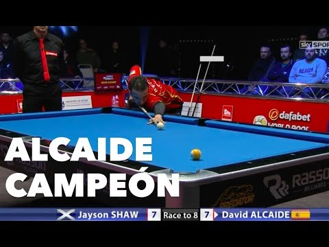 David Alcaide campeón World Pool Masters 2017