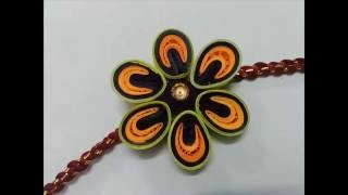 How To Make Handmade Quilling Rakhi
