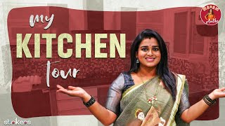 My Kitchen Tour || Sreevani Kitchen Tour || Madam Anthe || Strikers