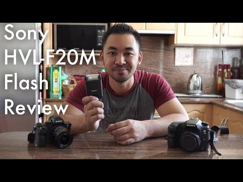 Sony HVL-F20M Flash Review | John Sison
