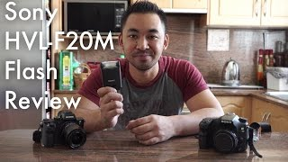 sony HVL-F20M Flash Review