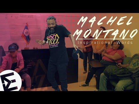 Machel Montano - Inspirational Words (Presented By The Music Ambassador)