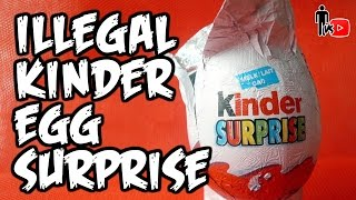 ILLEGAL KINDER EGG SURPRISE - Man Vs Youtube