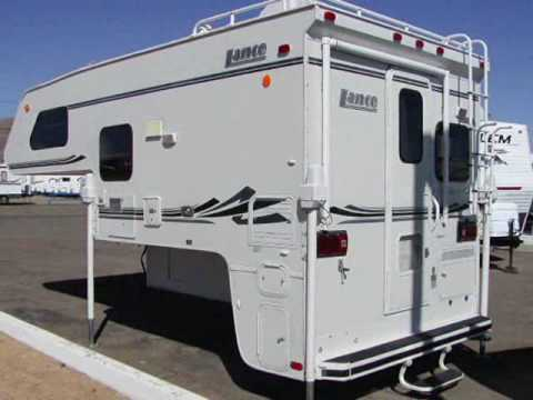 2008 Lance 820 Truck Camper For Sale Youtube