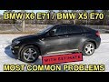 🤞 🇩🇪 Used BMW X6 Common Problems and Issues | X5 E70 and X6 E71 |