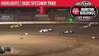Highlights: World of Outlaws Morton Buildings Late Model Series @ Vado Speedway Park 1/5/20