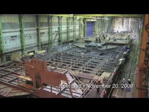 Halifax Shipyard: Shipbuilding Time Lapse