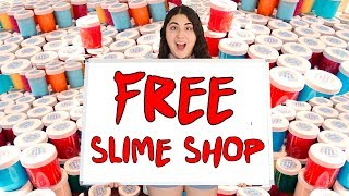 I OPENED A FREE SLIME SHOP FOR SLIMEATORY #600