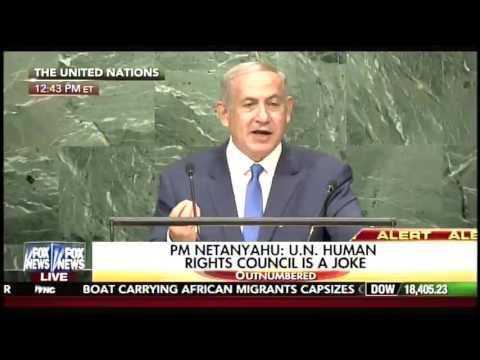 Israeli PM Netanyahu: UN Is a Global Moral Farce