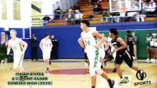 "[ 309 Sports ] Geneseo 6'4"" Point Guard Isaiah Rivera (2020) Video"