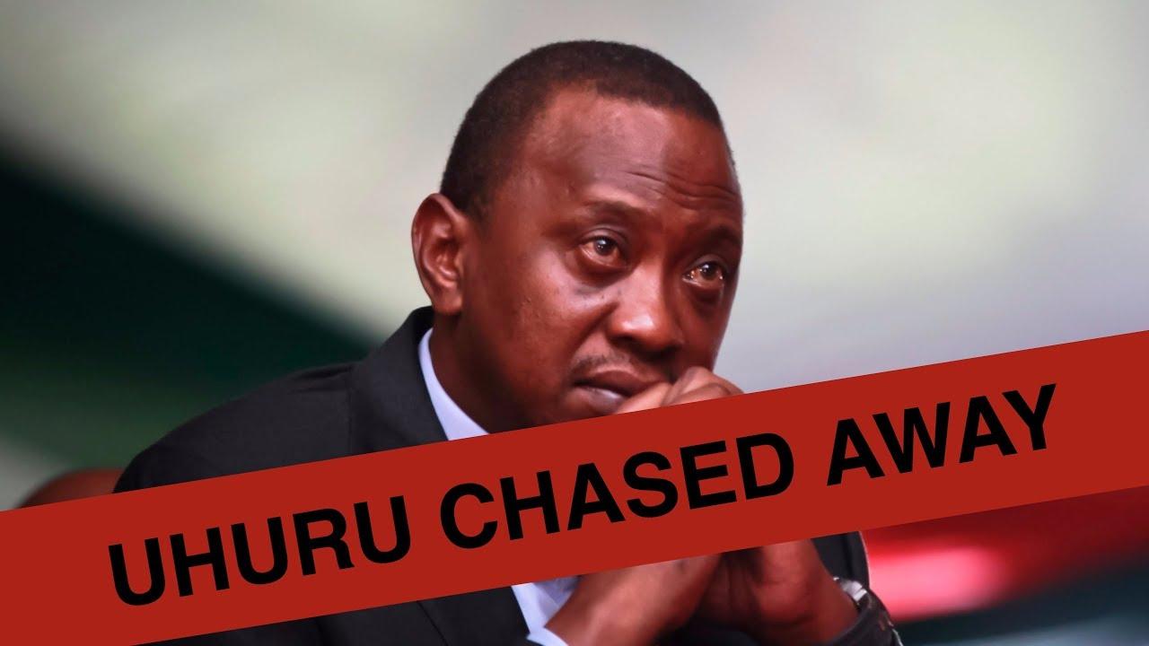 UHURU CHASED AWAY FROM MOMBASA LOCALS VOW TO VOTE NASA   KENYA NEWS