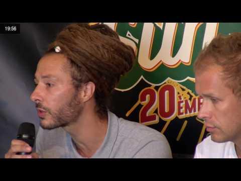Conference de presse de DANAKIL - Reggae Sun Ska 2017