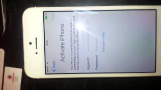 iphone 5 white 16gb sprint usa icloud