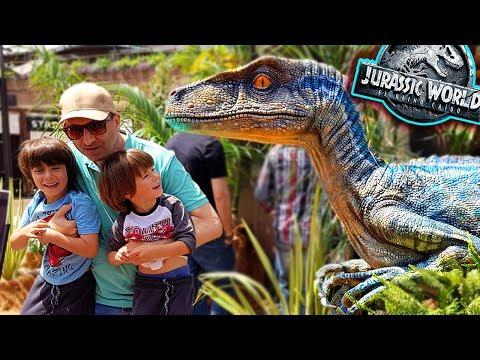 ES EL VELOCIRAPTOR BLUE !! 😱 Jurassic World 2 Fallen Kingdom EXPERIENCE