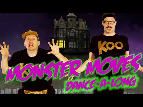 Koo Koo Kanga Roo - Monster Moves (Dance-A-Long)