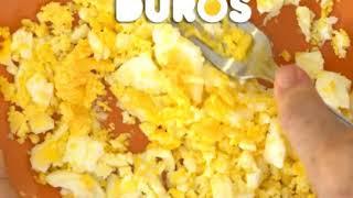 Lonchera de Naná: Sandwich de pasta de huevo