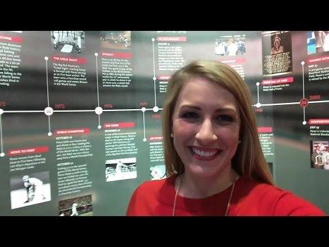 New Cincinnati Reds Museum & Hall of Fame exhibits