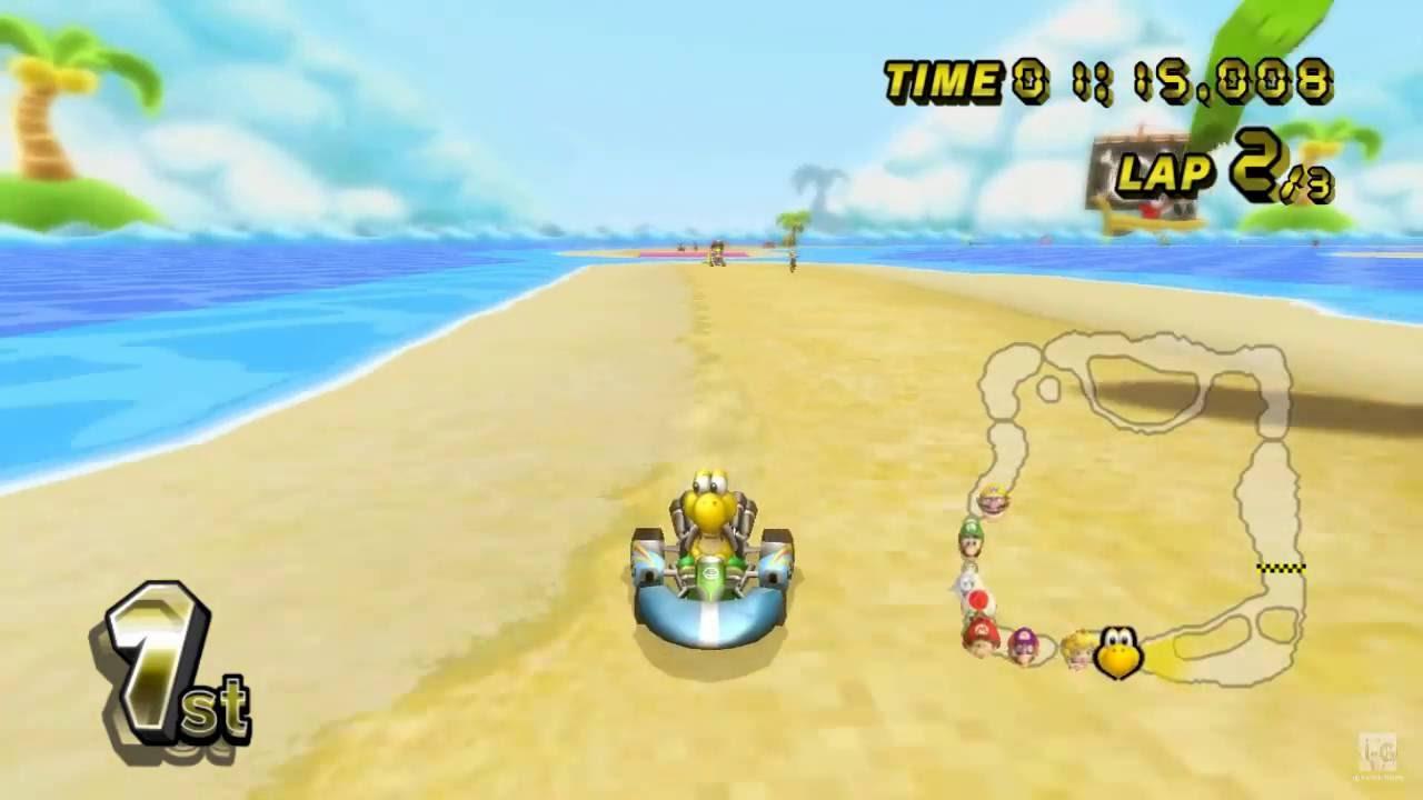 Mario Kart Wii Koopa Troopa Gameplay Hd