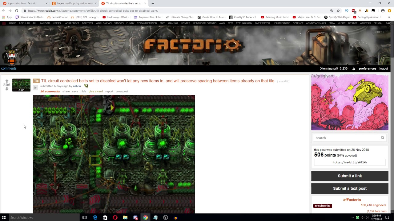 Factorio Reddit Weekly Discussion EP30 - News, Inspiration & Thoughts