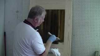 How To Stain A Solid Wood Door