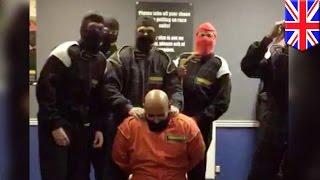 Mock ISIS execution video by UK HSBC staff gets slammed online - TomoNews