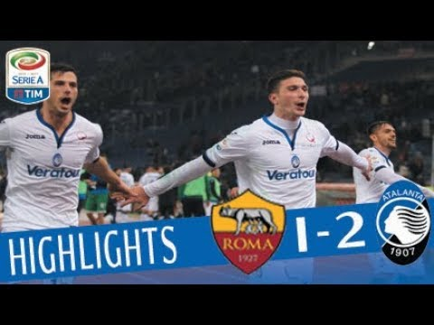 Roma - Atalanta 1-2 - Highlights - Giornata 20 - Serie A TIM 2017/18