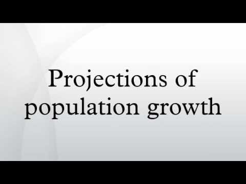 Projections of population growth