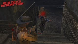 Red Dead Redemption: Brutal Combat Gameplay & Funny Moments - Compilation Vol.53 (Xbox One X)