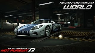 Need For Speed World Koenigsegg CCX Hot Pursuit (SCPD)