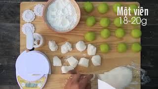 Cách làm Bánh dẻo lạnh đón trung thu   How to make Cold Snowskin Mooncake