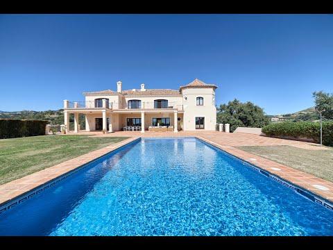 Commanding 8 bedroom mansion for sale in Marbella Club Golf Resort, Benahavis, Malaga