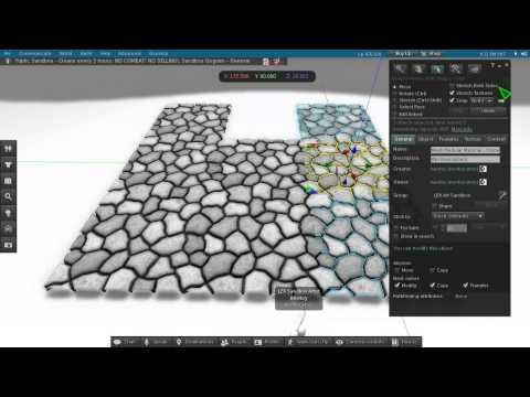 Mesh Modular Material - Stones (slm0141)