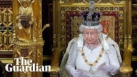 Queen's speech held to mark state opening of parliament – watch live