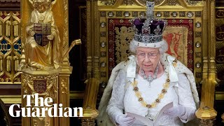 Queen's speech held to mark state opening of parliament - watch live