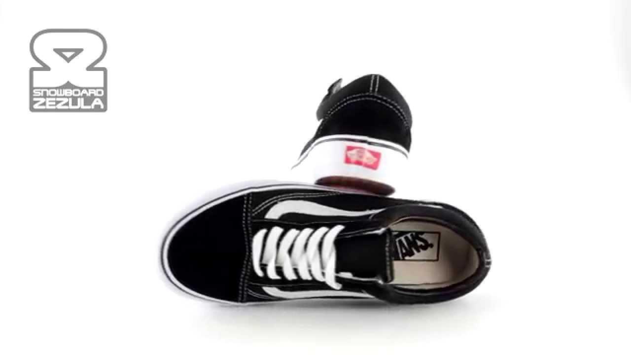 9fbed19e2e Boty Vans Old Skool black white P13 - YouTube