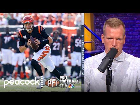 Joe Burrow should focus on playing smart and safe   Pro Football Talk   NBC Sports