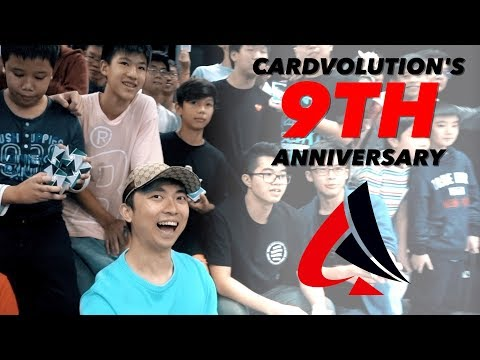 Cardvolution's 9th Anniversary Event ft. Edo Huang, Harapan Ong, Chandler Lim and Daren Yeow