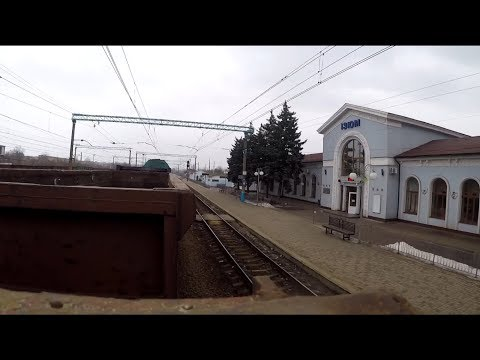 На грузовом поезде прямо на Донбасс, станция Лиман бывш.Красный Лиман зона ООС (АТО)