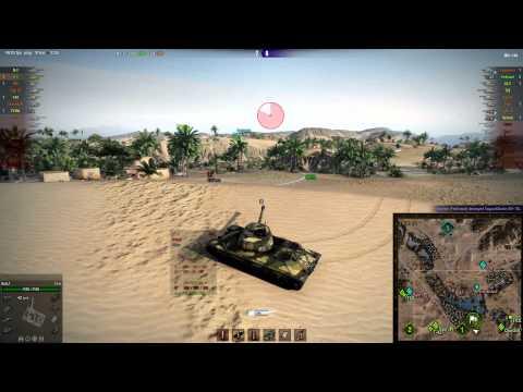 IS-6, Sand River, Assault. High Caliber, Steel Wall [0.9.0]