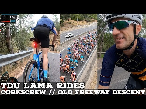 Lama Rides TDU: